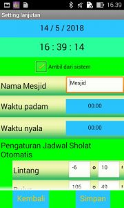 Jadwal Waktu Shalat (JWS) 2 & 3 Panel P10 Arduino Uno dengan