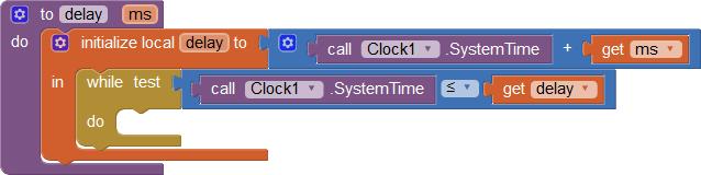 fungsi delay app inventor